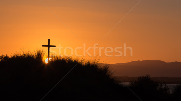Tusket Hill Cross Stock photo © rghenry