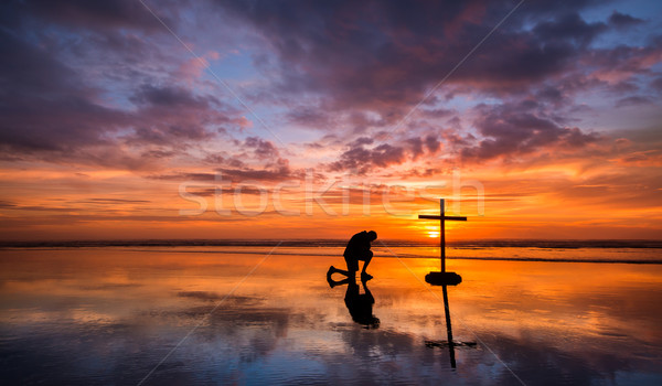 Stock photo: Colors of Prayer