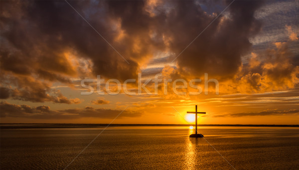 It Is Finish Cross Stock photo © rghenry