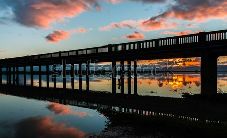 Trestle Bridge Truck Stock photo © rghenry