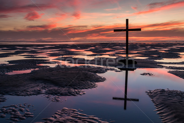 Pools of Cross Salvation Stock photo © rghenry