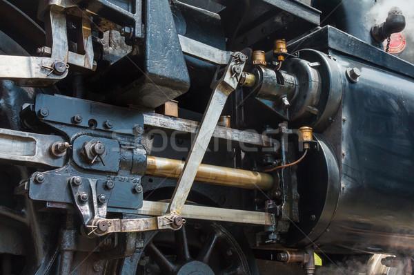 пар власти основной поезд стали Сток-фото © rghenry