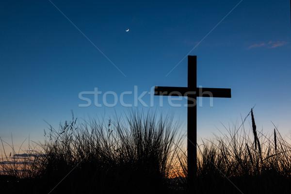 Dawn Cross Stock photo © rghenry