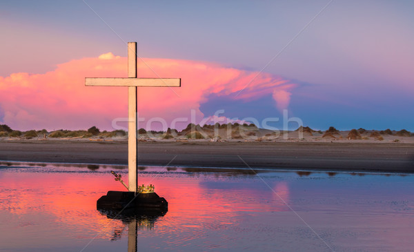 Storm Cloud Cross Stock photo © rghenry