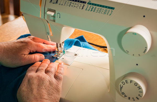 Sewing Machine Sitching Stock photo © rghenry