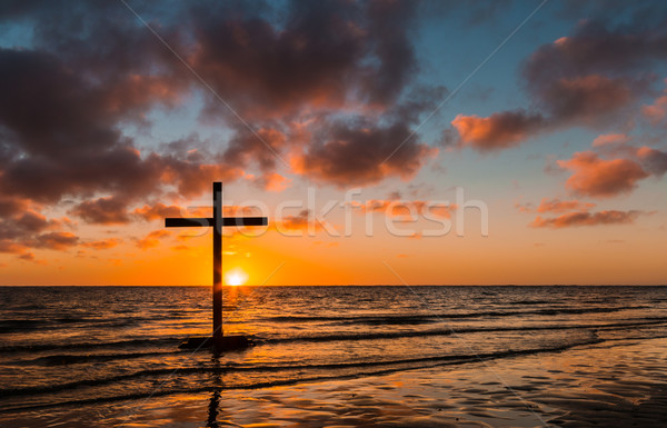 Summer Setting Sun Stock photo © rghenry