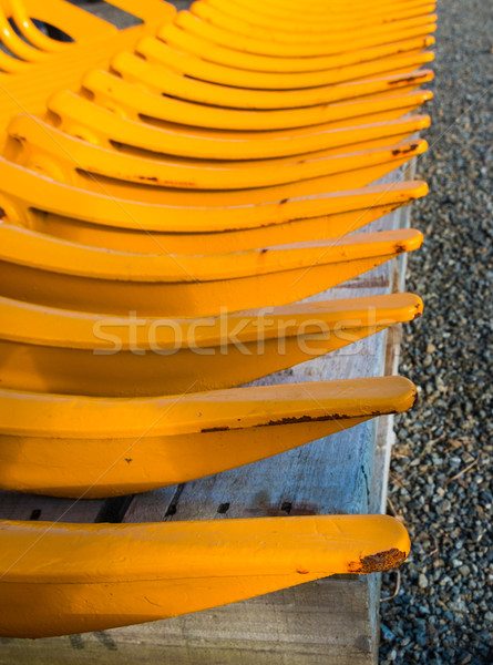 Yellow Pickup Teeth Stock photo © rghenry