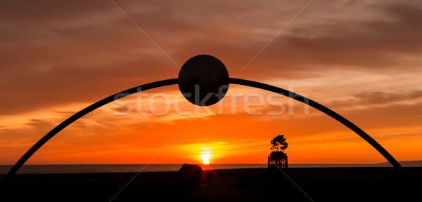 Millennial Arch Sunrise Napier Stock photo © rghenry