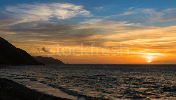 Paekakariki Coast Stock photo © rghenry
