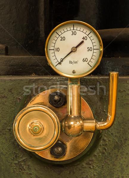 Steam Pressure Gauge Stock photo © rghenry