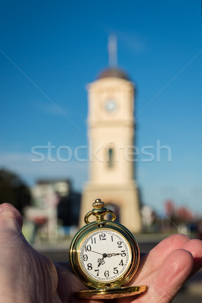 Stock photo: Pocket Time