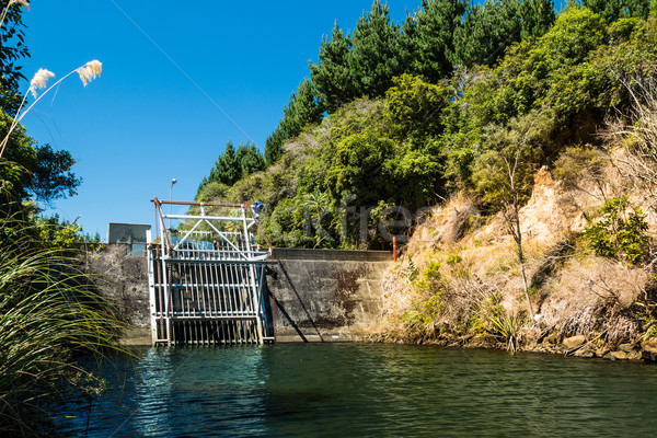 Water Control Dam Stock photo © rghenry