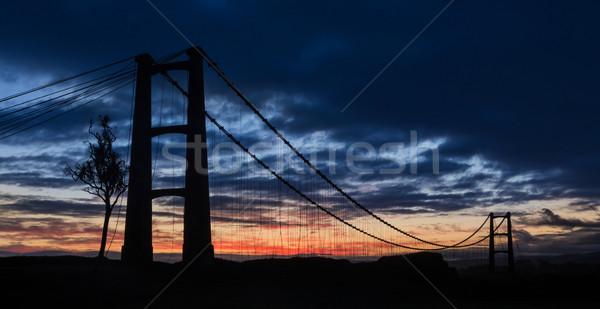 Opiki Bridge Dawn Stock photo © rghenry