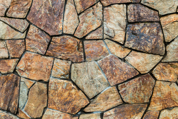 Rock Fitted Wall Stock photo © rghenry