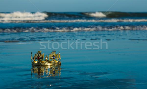 ビーチ クラウン 洗浄 アップ ストックフォト © rghenry