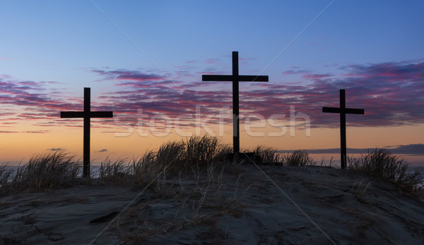 Sand Dune Calvary.dng Stock photo © rghenry