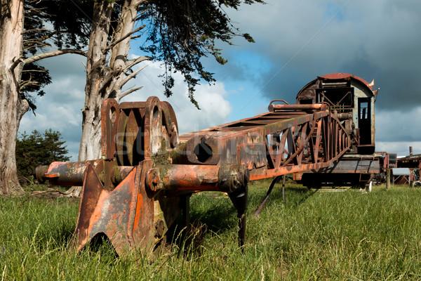 Old Railway Crane Stock photo © rghenry