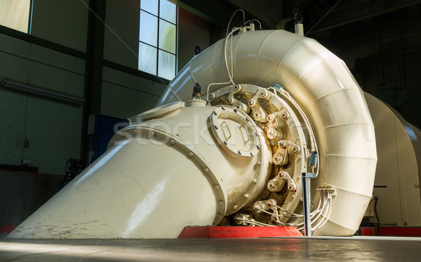 Hydroelectric Generator Stock photo © rghenry