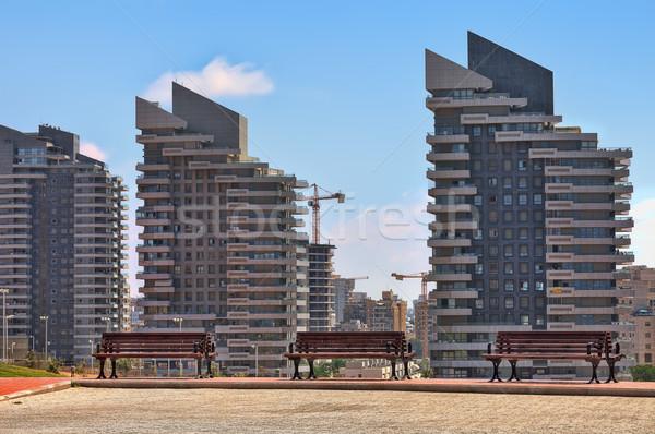 Moderno residenziale edifici Israele complesso contemporanea Foto d'archivio © rglinsky77