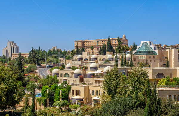 Modern neighborhood in Jerusalem, Israel. Stock photo © rglinsky77