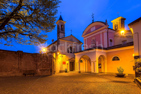 Town of Barolo, Italy. Stock photo © rglinsky77
