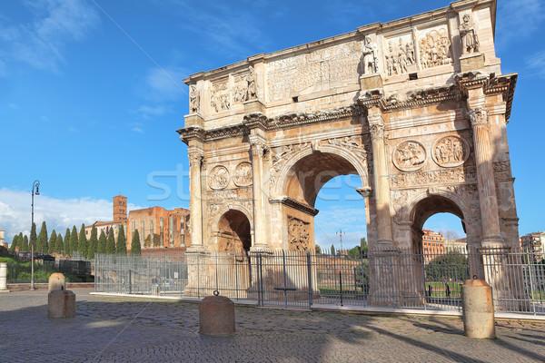Kemer Roma İtalya ünlü kilise Stok fotoğraf © rglinsky77