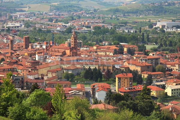 Katedral kuzey İtalya manzara Stok fotoğraf © rglinsky77
