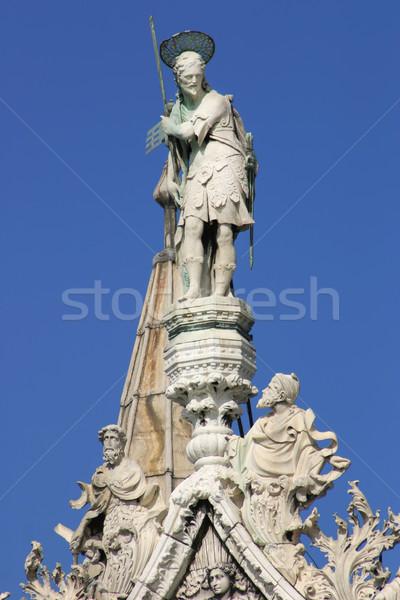 San Marco Basilica - Fragment. Venice, Italy. Stock photo © rglinsky77