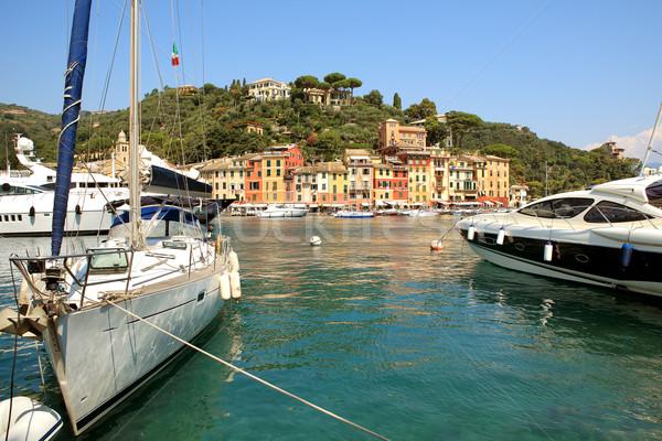 Bay of Portofino. Liguria, Italy. Stock photo © rglinsky77