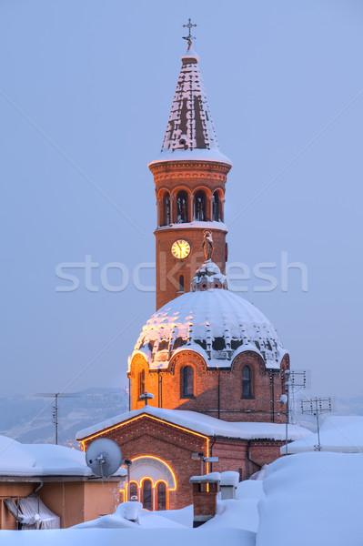 Madonna Moretta Church. Alba, Italy. Stock photo © rglinsky77
