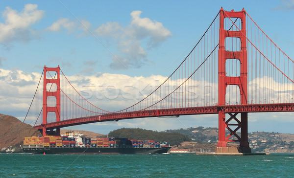 Golden Gate Bridge San Francisco natureza paisagem portão américa Foto stock © rglinsky77