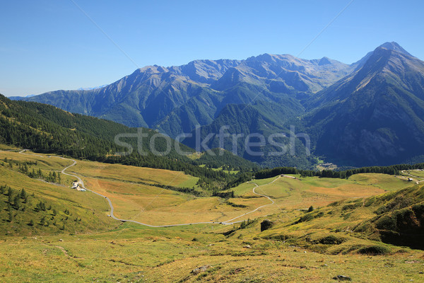 Valley among mountains in northern Italy. Stock photo © rglinsky77