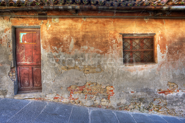 Old house. La Morra, Northern Italy. Stock photo © rglinsky77