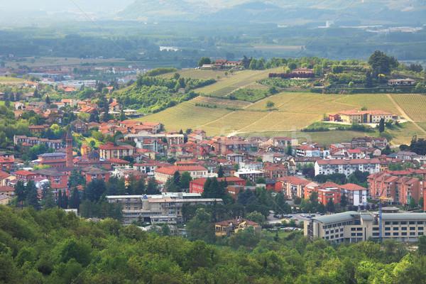города холмы Италия путешествия Сток-фото © rglinsky77
