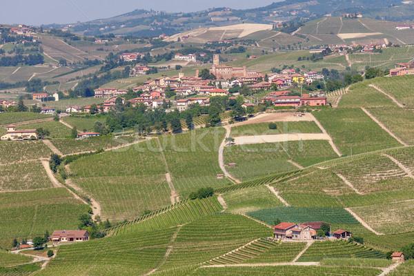 холмы Италия зеленый весны Сток-фото © rglinsky77