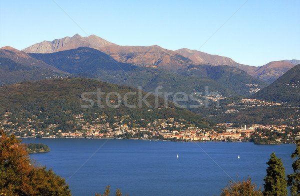 View on Lake Maggiore in Italy. Stock photo © rglinsky77