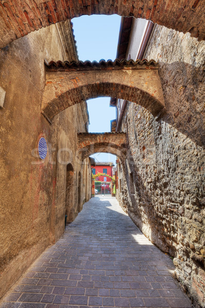 Ancient pathway. Sirmione, Italy. Stock photo © rglinsky77