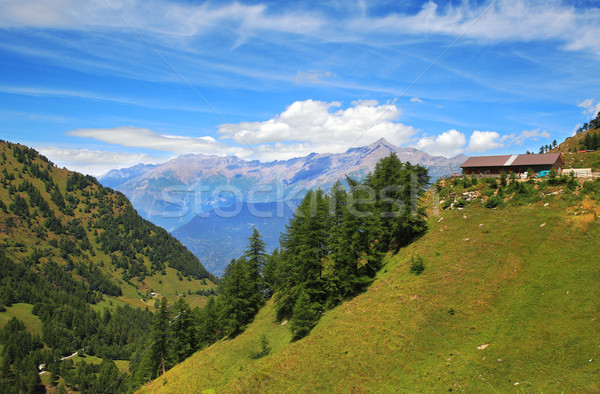 View on Alps in northern Italy. Stock photo © rglinsky77