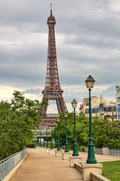 Eiffel Tower. Paris, France. Stock photo © rglinsky77