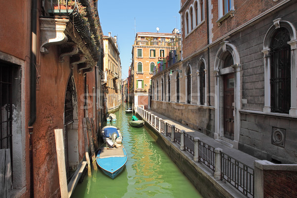 Small canal. Venice, Italy. Stock photo © rglinsky77
