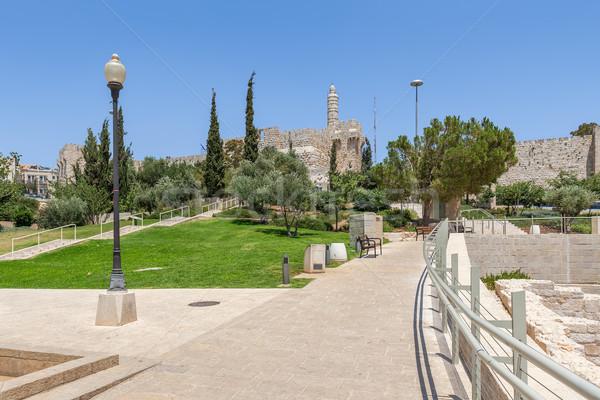 Kentsel park Kudüs İsrail yeni oyuncak Stok fotoğraf © rglinsky77