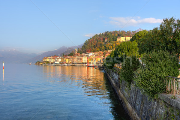 Small town on Lake Como in Italy. Stock photo © rglinsky77