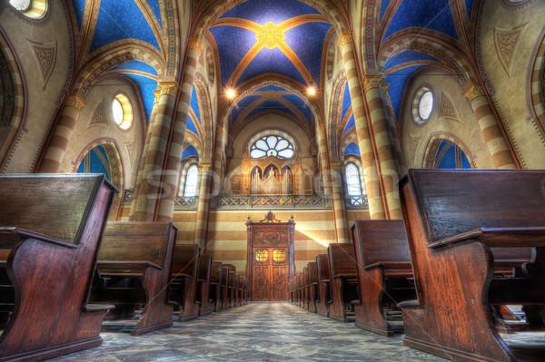 San Lorenzo cathedral interior. Stock photo © rglinsky77