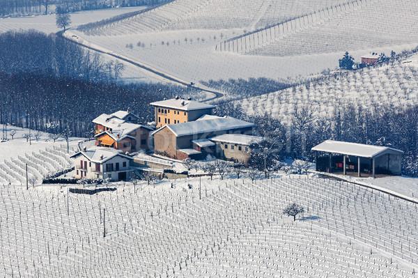 Piccolo Hill settentrionale Italia natura neve Foto d'archivio © rglinsky77