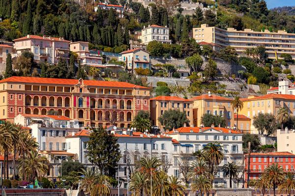 Renkli evler binalar fransız Bina Stok fotoğraf © rglinsky77