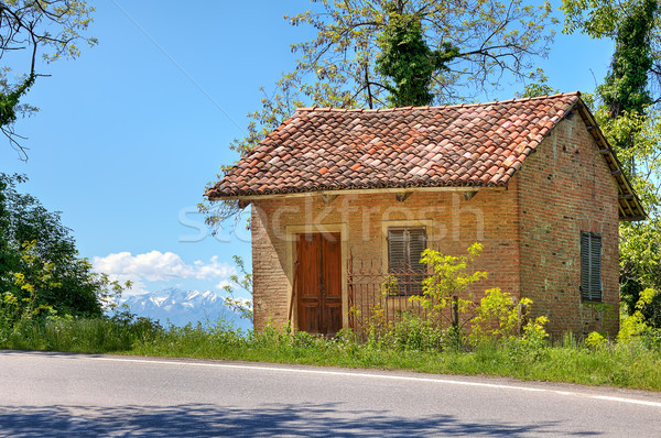 Small rural house. Piedmont, Italy. Stock photo © rglinsky77
