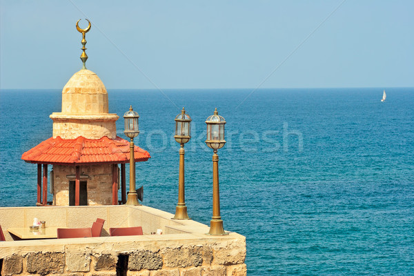 Old mosque. Yafo, Israel. Stock photo © rglinsky77