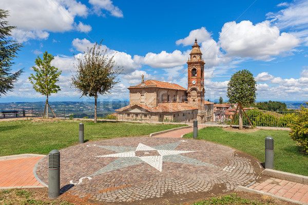 View on parish church in Italy. Stock photo © rglinsky77
