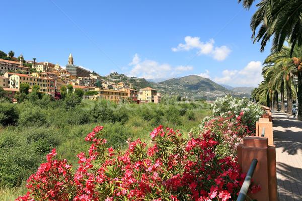 Kasaba İtalya görmek seyahat mimari Stok fotoğraf © rglinsky77