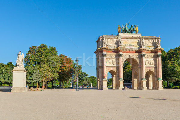 Arc de Triomphe du Carrousel. Stock photo © rglinsky77